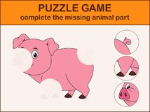 Complete the puzzle and find the missing parts of the picture. Illustration of Complete the puzzle and find the missing parts of the picture Stock Photos
