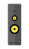 Illustration of Computer Audio Speaker Royalty Free Stock Images