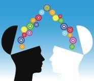 Illustration conceptuelle de consensus Images libres de droits