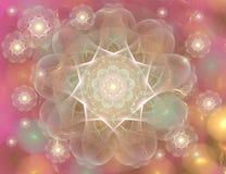 Illustration conceptuelle de mandala Image stock