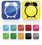 Illustration conceptuelle de vecteur d'horloge Images libres de droits