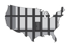 USA - The Prison Capital of the World Stock Image