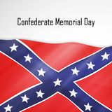 Illustration of Confederate Memorial Day background. Illustration of elements of Confederate Memorial Day background Stock Photo