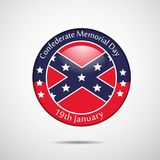 Illustration of Confederate Memorial Day background. Illustration of elements of Confederate Memorial Day background Stock Photos