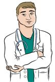Doctor man vector Stock Photography
