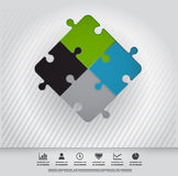 Illustration of connection Royalty Free Stock Images