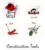 Illustration of construction tools Royalty Free Stock Photo