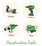 Illustration of construction toolsΠRoyalty Free Stock Photos