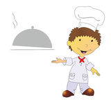 Illustration of cook Stock Photos