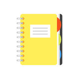 Illustration of copybook. Royalty Free Stock Images