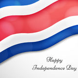 Illustration of Costa Rica Independence Day Background Royalty Free Stock Image