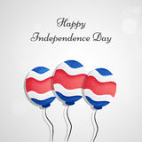 Illustration of Costa Rica Independence Day Background Royalty Free Stock Photo