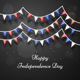 Illustration of Costa Rica Independence Day Background Royalty Free Stock Images
