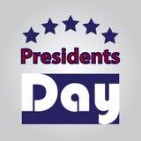 Illustration courante de vecteur des Présidents Day Icon EPS 10 Photo libre de droits
