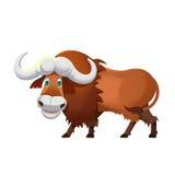 Illustration: Cow, Yak. Royalty Free Stock Photography