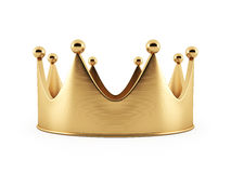 Illustration of the crown from gold Royalty Free Stock Photos