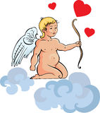 Illustration of cupid Stock Photo