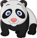 Cute baby panda cartoon Stock Photography
