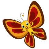 Cute butterfly cartoon. Illustration of Cute butterfly cartoon royalty free illustration