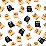 Illustration of a Cute cat Royalty Free Stock Images