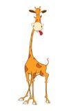 Illustration of a Cute Giraffe. Cartoon Character Stock Photography