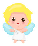 Illustration Of Cute Little Angel Royalty Free Stock Images