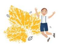 Illustration of boy stock illustration