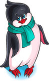 Illustration of cute little penguin Royalty Free Stock Photo