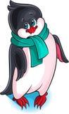 Illustration of cute little penguin Royalty Free Stock Photo