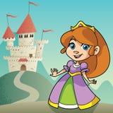Little Princess Landscape Stock Images