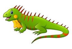Cute lizard cartoon. Illustration of Cute lizard cartoon Stock Image