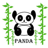 Cute panda Royalty Free Stock Images