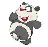 Illustration of a Cute Panda. Cartoon Character Stock Photography