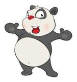 Illustration of a Cute Panda. Cartoon Character Royalty Free Stock Photography