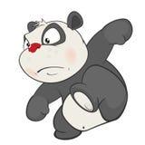 Illustration of a Cute Panda. Cartoon Character Royalty Free Stock Image