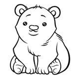 Illustration of cute Polar Bear Royalty Free Stock Image