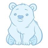 Illustration of cute Polar Bear Royalty Free Stock Images