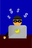 Illustration for cyber crime Stock Photos