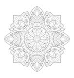 Illustration décorative de mandala Image stock
