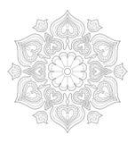 Illustration décorative de mandala Images stock