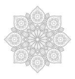 Illustration décorative de mandala Photos libres de droits
