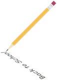 Illustration détaillée de crayon Photographie stock libre de droits