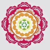 Mandalas floraux Photo stock