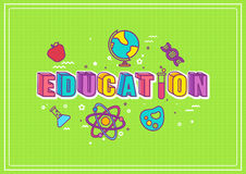 Illustration d'éducation Image libre de droits