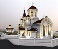 Illustration d'église Image stock