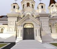 Illustration d'église Photo stock