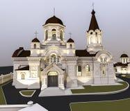 Illustration d'église Images libres de droits