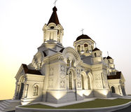 Illustration d'église Images stock