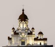 Illustration d'église Photographie stock