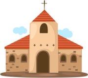 Église chrétienne illustration libre de droits
